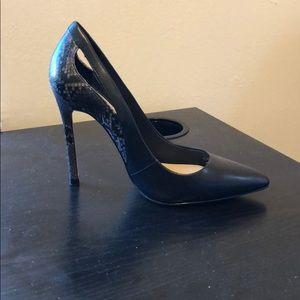 Zara high heel multi color shoes